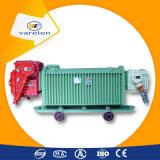 Subestação seca móvel de mineração do transformador