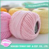 Prezzo di lavoro a maglia all'ingrosso del filo di cotone 20s della filanda