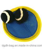 ほとんどの普及したおもちゃの毛織のゴム製跳ねるビーチボール