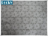 Laço preto acessório do Spandex da tela do laço da guipura do vestuário