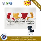 Cadeira moderna da cisne do ovo do escritório do lazer de Barstool da tela vermelha (UL-JT520)