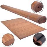 100%自然なタケ木製領域敷物の床のカーペットの屋内使用