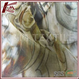 Boa tela de seda impressa floral vertical de Georgette com seda de 100%