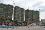 De Kraan van de toren met tc-367 en MaximumLengte 70m van de Kraanbalk