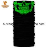 Preiswertes Drucken-kundenspezifisches Polyester-nahtloser Stutzen-Gefäßbandana-Großverkauf