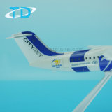 Plastic Vliegtuigen Cityjet 39cm het Model van het Vliegtuig Bae146 voor Inzameling