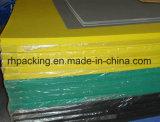 폴리프로필렌 PP 쌍둥이 벽 미국 시장을%s 물결 모양 플라스틱 장 또는 Correx Coroplast Corflute 장 1220*2440*4mm 녹색