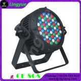54X3W RGBW scène DMX LED PAR Outdoor Disco Light