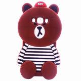 iPhone аргументы за кремния медведя поперечины шаржа 3D 7 7plus милое мягкое J5 J7 J710 (XSDW-090)
