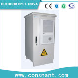 UPS en línea al aire libre 1-10kVA de las telecomunicaciones 48VDC con la batería del hierro del litio