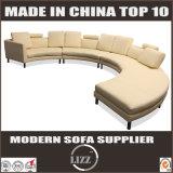 Modernes Spitzenkorn-Leder-Sofa-Schnittsofa für Büro