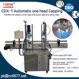 Автоматическая одна головная покрывая машина CDX-1 для пластичных крышек винта и крышек насоса и крышек брызга