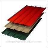 Folha de aço ondulada galvanizada do telhado da cor da folha do telhado (DX51D)