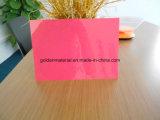 Folha superior do PVC de Quanlity para a tampa de livro obrigatória do PVC da tampa