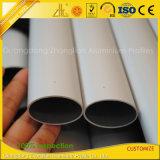 Anodisiertes Aluminiumaluminiumstrangpresßling-Quadrat ISO-9001/rund/Ebene/ovales Gefäß