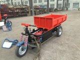 Triciclo elétrico da carga, preço elétrico do descarregador