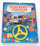 La fábrica modifica tacto de la buena calidad para requisitos particulares y siente el libro de la tarjeta de los niños