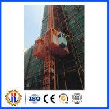 Alzamientos/pasajero de elevación Hoist/Sc200-200/Sc100-100 de Gjj del alzamiento de la construcción