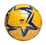 Esfera de futebol laminada peso da raça do tamanho padrão