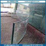 6mm verbogen ausgeglichenes/abgehärtetes Wärme gebogenes Glas für Gebäude und Möbel