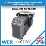 A maioria de impressora Wer-Eh4880 Flatbed UV estável para a impressão da telha cerâmica e do vidro