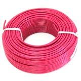 Único fio de cobre isolado PVC do núcleo para o uso do agregado familiar