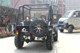 까만 소형 지프, 성인을%s 소형 전기 ATV