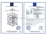 Baugerüst-Zehe-Vorstand, der Koppler/Hort-Einstieg-Koppler beibehält