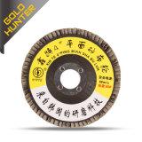 직업적인 플랩 디스크 닦는 바퀴 (순수한 덮개 125)