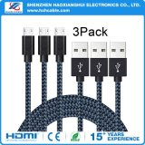 2.1A 1m Nylon Braided Mobilephone Cable