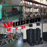 Constructeur 16*5*101/2 en gros Appuyer-sur le pneu solide