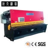 Machine de tonte hydraulique, machine de découpage en acier, machine de tonte QC12k-8*4000 de commande numérique par ordinateur