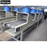 Convoyeur de refroidissement d'acier inoxydable de courroie