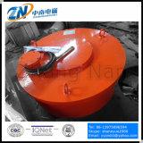 Séparateur de séparation magnétique manuel à décharge circulaire pour séparation de matériau Ferror Mc03