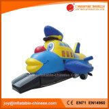 Bouncer di salto dei prodotti dell'aeroplano di sguardo 3D del giocattolo gonfiabile dei capretti (T1-911)