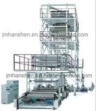 Conjunto de la máquina de la máquina que sopla de la película rotatoria de la pista