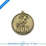 Medaglia corrente di maratona di sport dello smalto del ODM