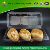 Прозрачная оптовая продажа контейнера упаковки хлеба хлебопекарни