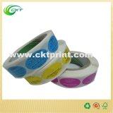 색깔 (CKT- LA- 159)로 인쇄하는 주문 롤 스티커