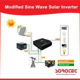 inversor modificado alta freqüência da potência solar de onda de seno 2000va/1300W com controlador de PWM