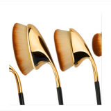 Profissional 9PCS Golf Club Shaped Foundation Oval Makeup Brush
