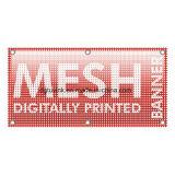 Materiale perforato di stampa della visualizzazione della bandiera della maglia della flessione di pubblicità esterna del PVC del vinile di disegno del tessuto