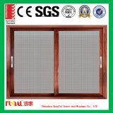 Finestra di scivolamento del blocco per grafici della lega di alluminio con doppio vetro Tempered