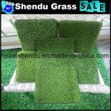 25mm 4つの調子の庭の人工的な草の泥炭