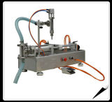 Máquina de rellenar líquida semiautomática de la bomba de engranaje de la máquina de rellenar