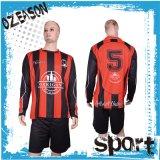 昇華サッカーのジャージーのカスタムワイシャツおよび短いフットボール・チームのユニフォームセット
