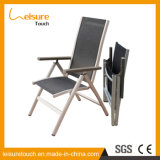 Outdoor Garden Pool Furniture Longe Testilene Alumínio Folding Beach Sunbed Espreguiçadeira Deck Chair