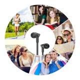 InOhr Hifi freier Baß-Kopfhörer-Nudel-Kabel-Stereokopfhörer mit Mikrofon