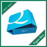Boîte-cadeau de clinquant argenté de carton (point de gel 8039125)