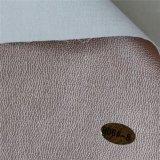 Tecido suportando o couro sintético Waxy do PVC do petróleo para a mobília (809#)